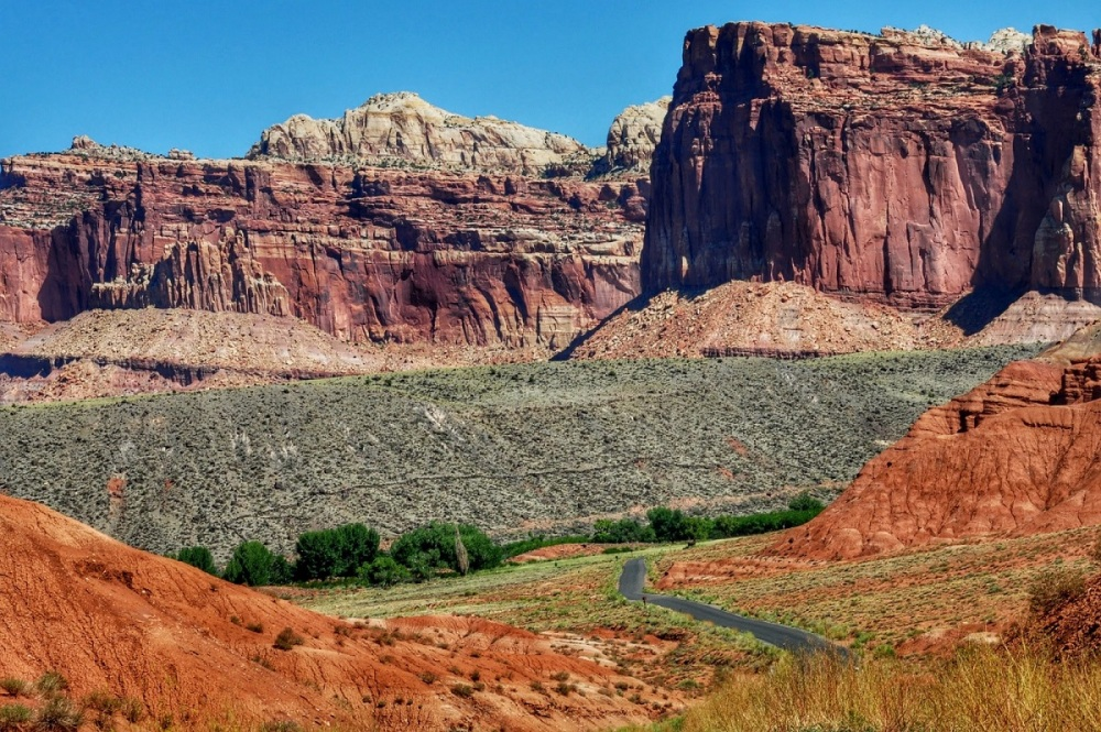 Utah's Scenic Byway 24 Fuita Scenic Drive