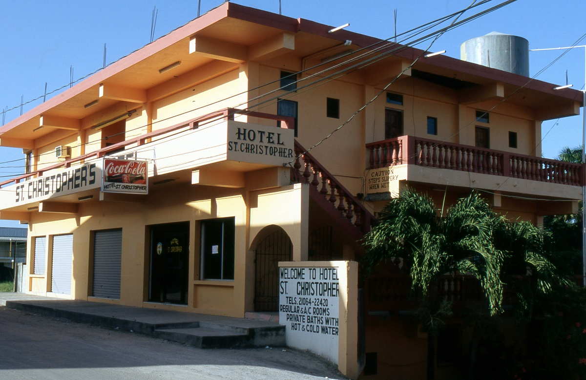 Orange Walk overnight in Hotel St Cristopher