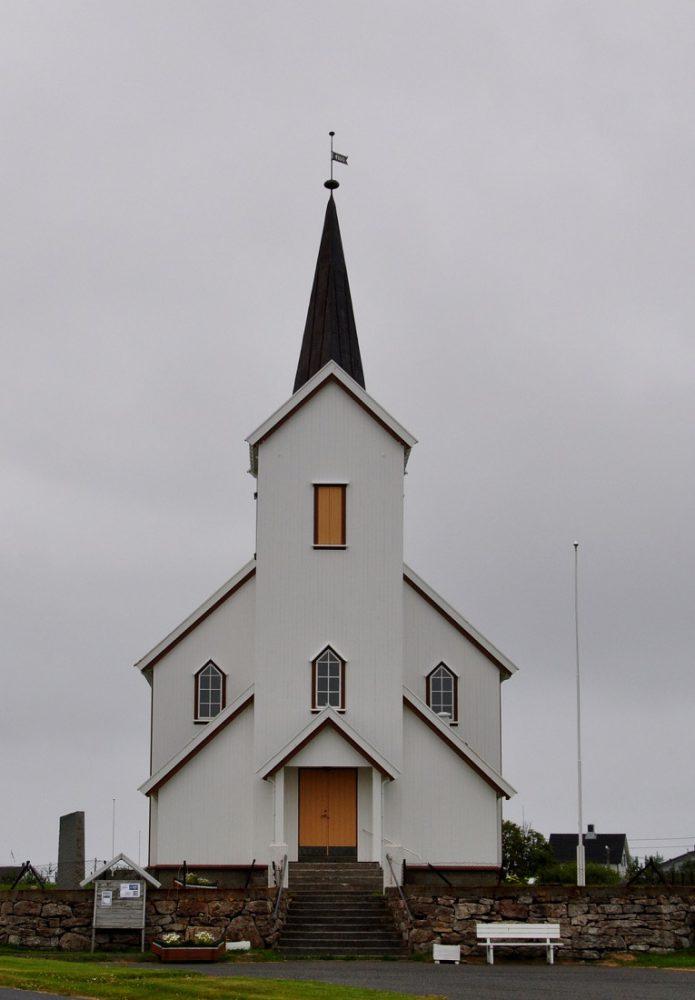 Lofoten Rost Island Kirke