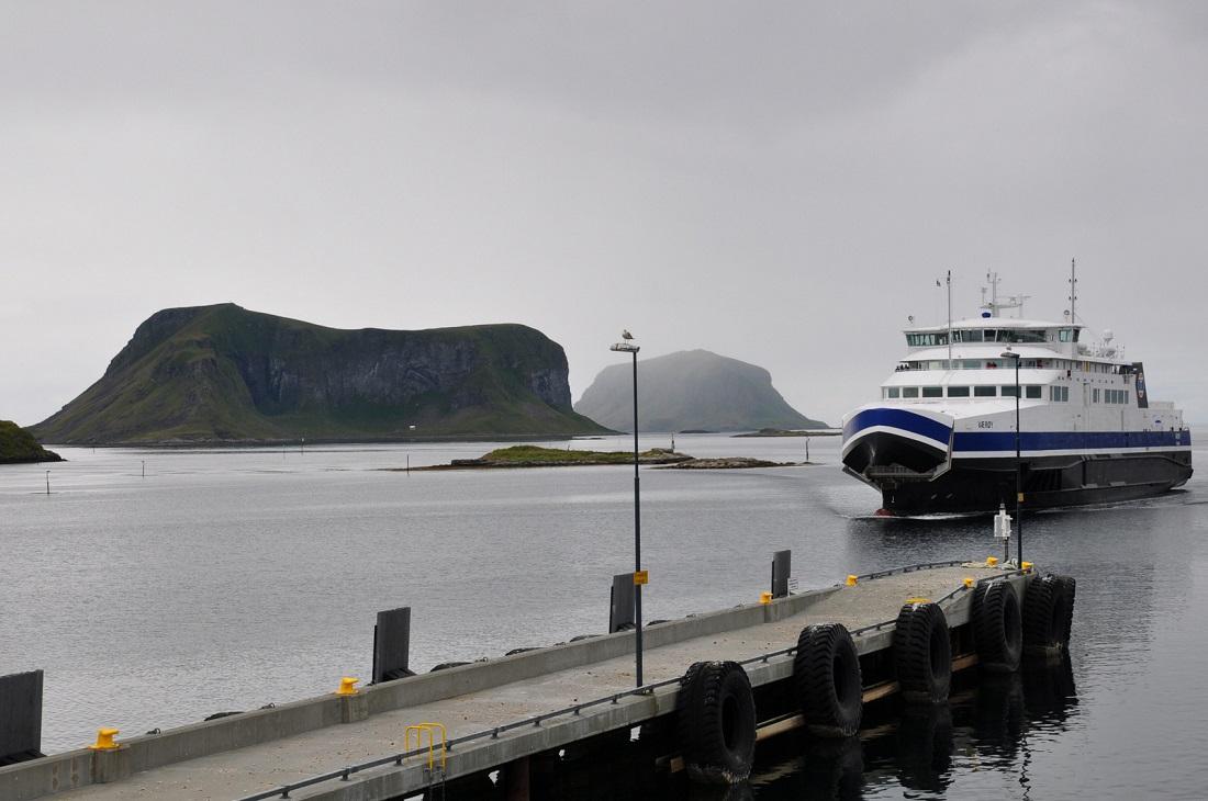 Røst island (ferry from Vaeroy)