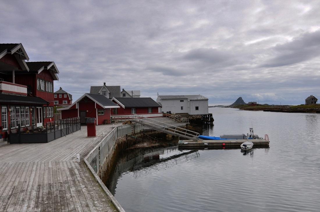 Røst island (Rost Brygge hotel)