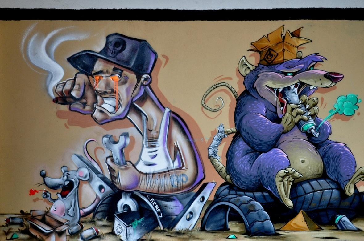 Nancy Street Art : Site Mac Mahon