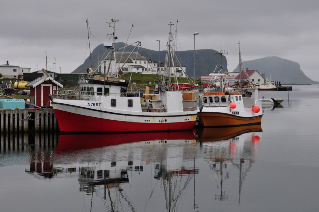 Røst island Harbour