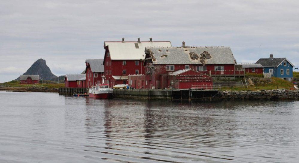 Røst Island : Kårøy rorbur camping