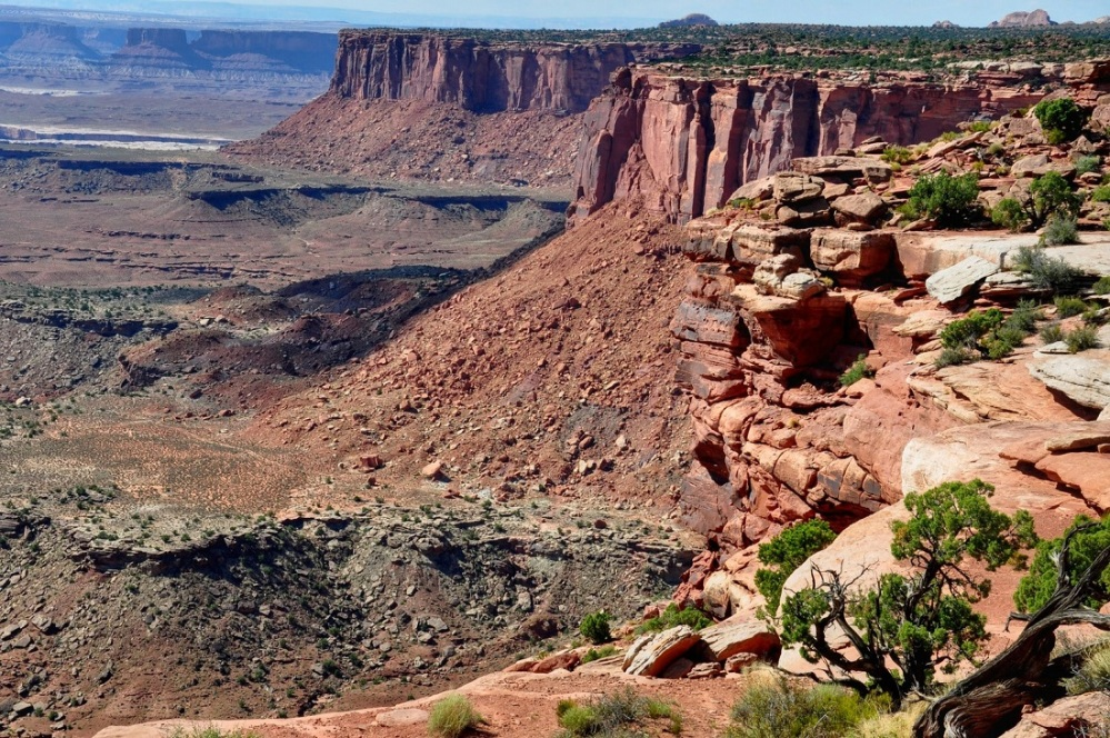 Canyonlands : Orange Cliffs Overlook