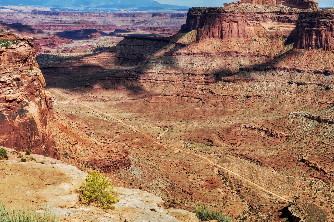 Canyonlands : Neck Spring Trail Head