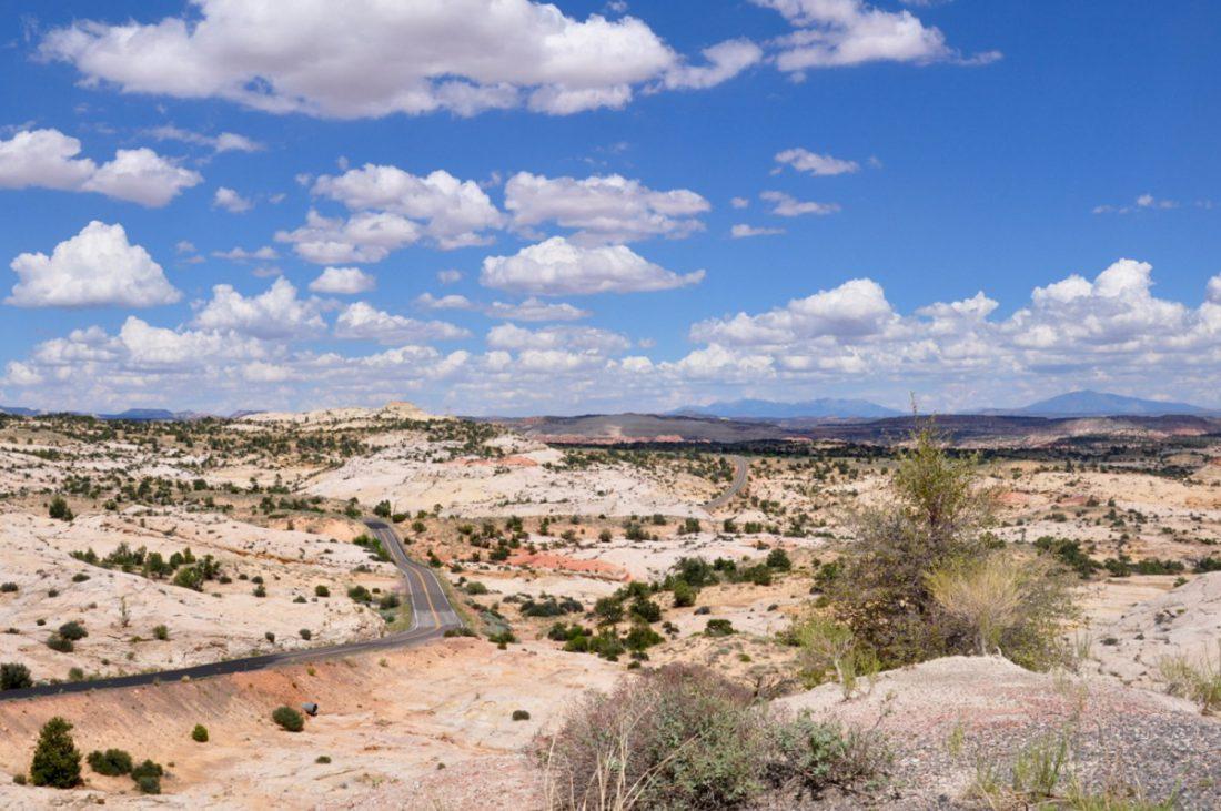 UTAH : Scenic Byway 12 : Head of the Rocks Overlook
