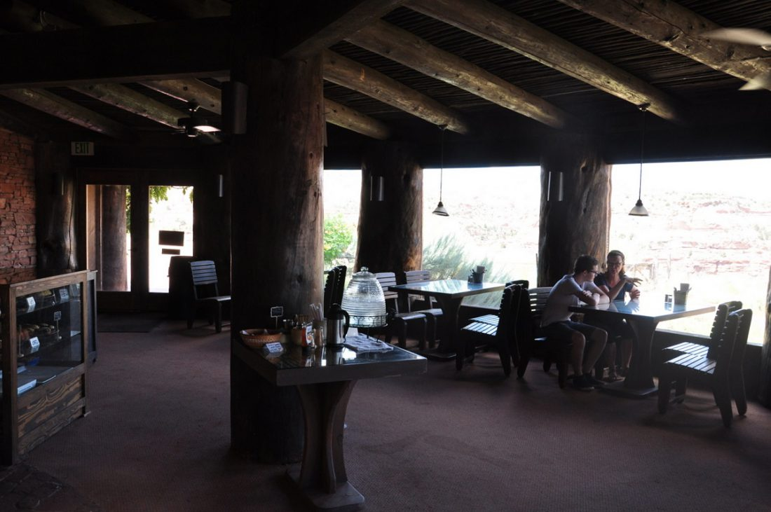 Utah Scenic Byway 12 : Kiva Koffeehouse