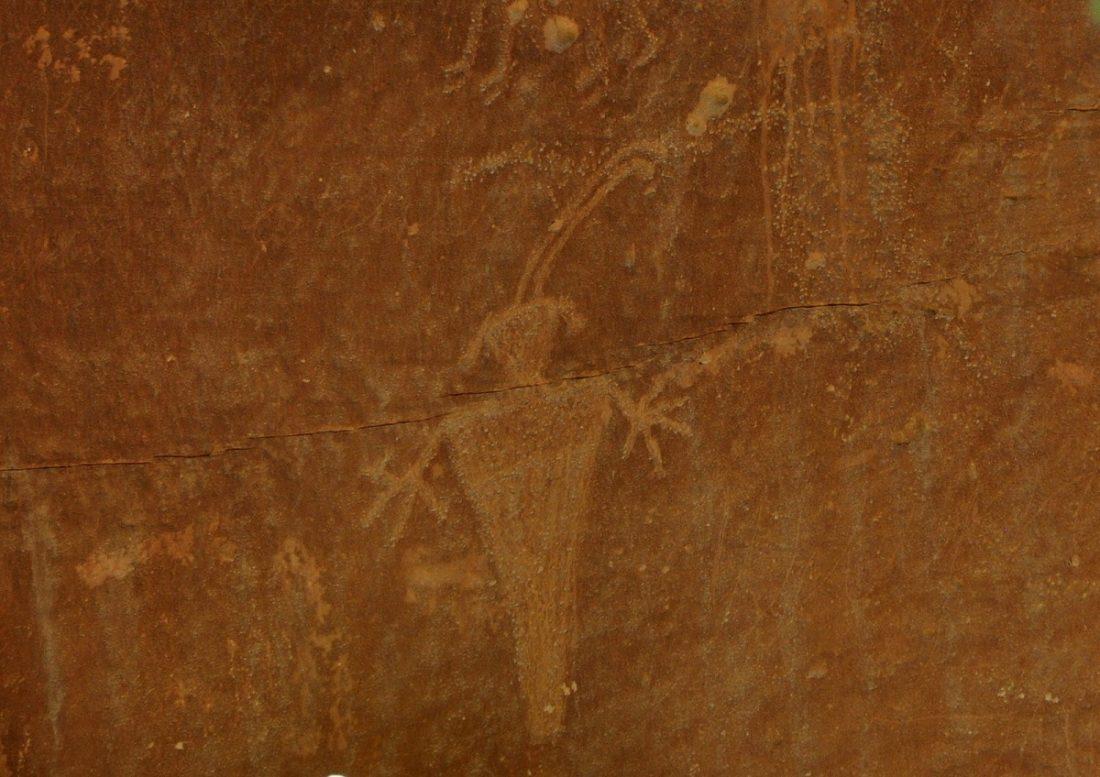 Utah's Scenic Byway 24 Fruita Petroglyphs