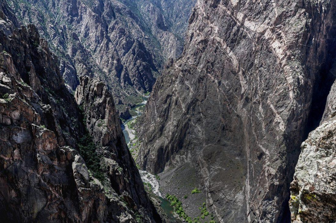 Colorado Black Canyon : Painted Wall