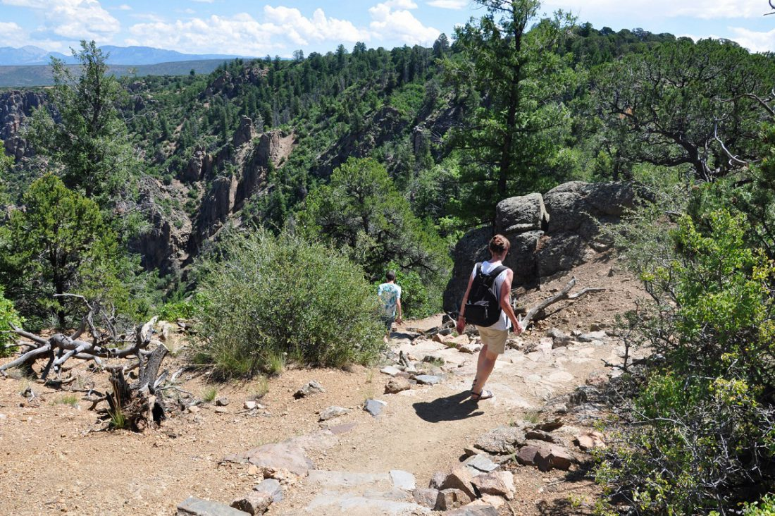 Colorado : Black Canyon : Warner Point Nature Trail