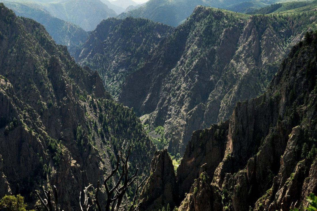 Colorado : Black Canyon of the Gunnison (Tomichi Point)