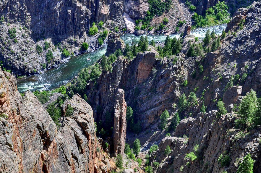 Colorado Black Canyon : Gunnison Point