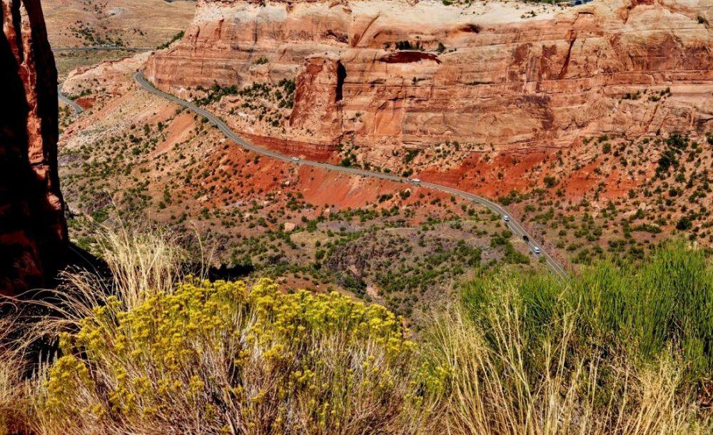 Colorado National Monument : Redlands View