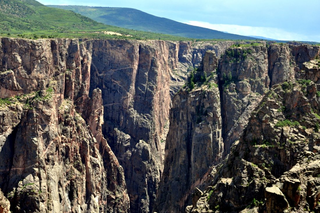 Colorado Black Canyon : Rock Point