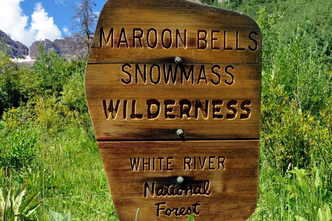 Colorado : Maroon-Snowmass Trailhead