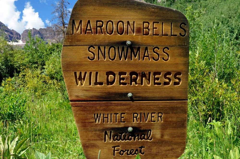 Colorado : Maroon-Snowmass Trailhead