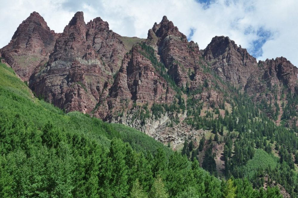 Colorado : Maroon-Snowmass Trail