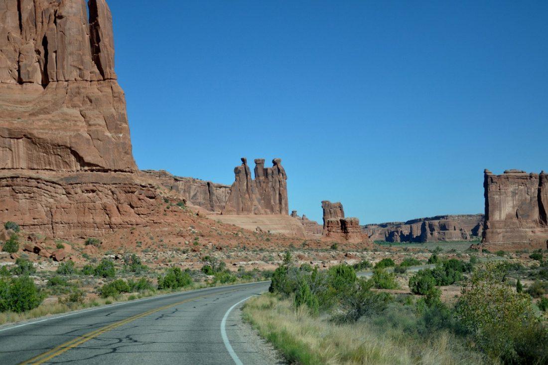 Arches National Park : Park Avenue