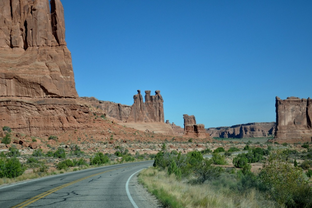 Arches National Park : Park Avenue