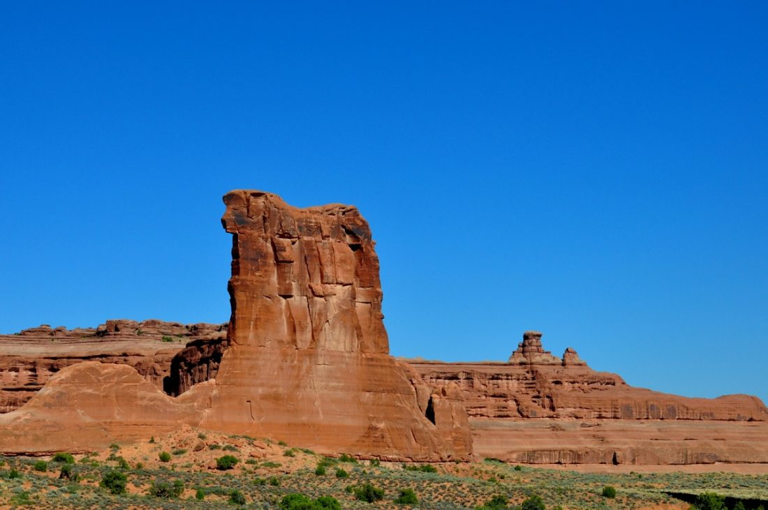 Arches National Park : Sheep Rock