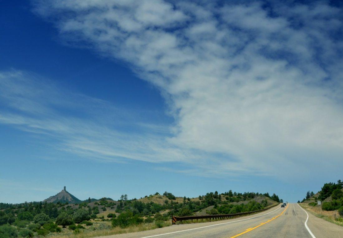 Colorado : Highway 160 Chimney Rock
