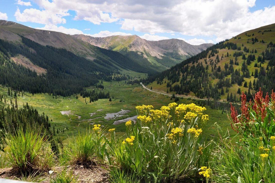 Colorado : Byway 82 to the Independence Pass