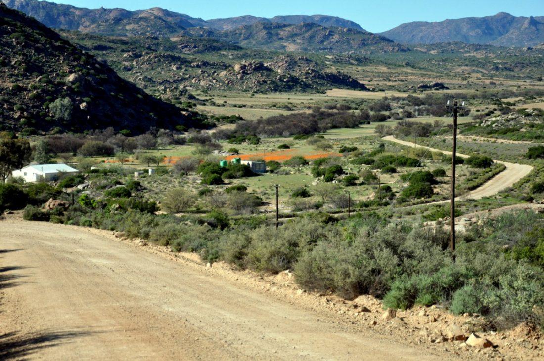 Namaqua National Park entrance