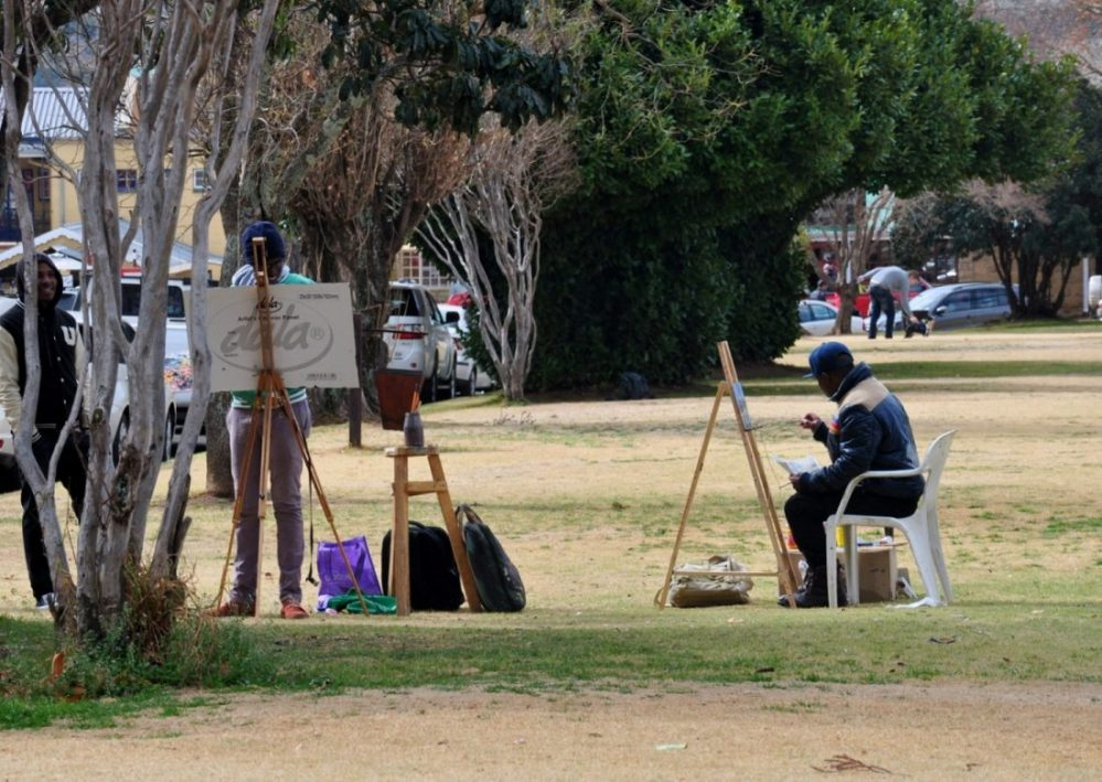 Artists in Clarens