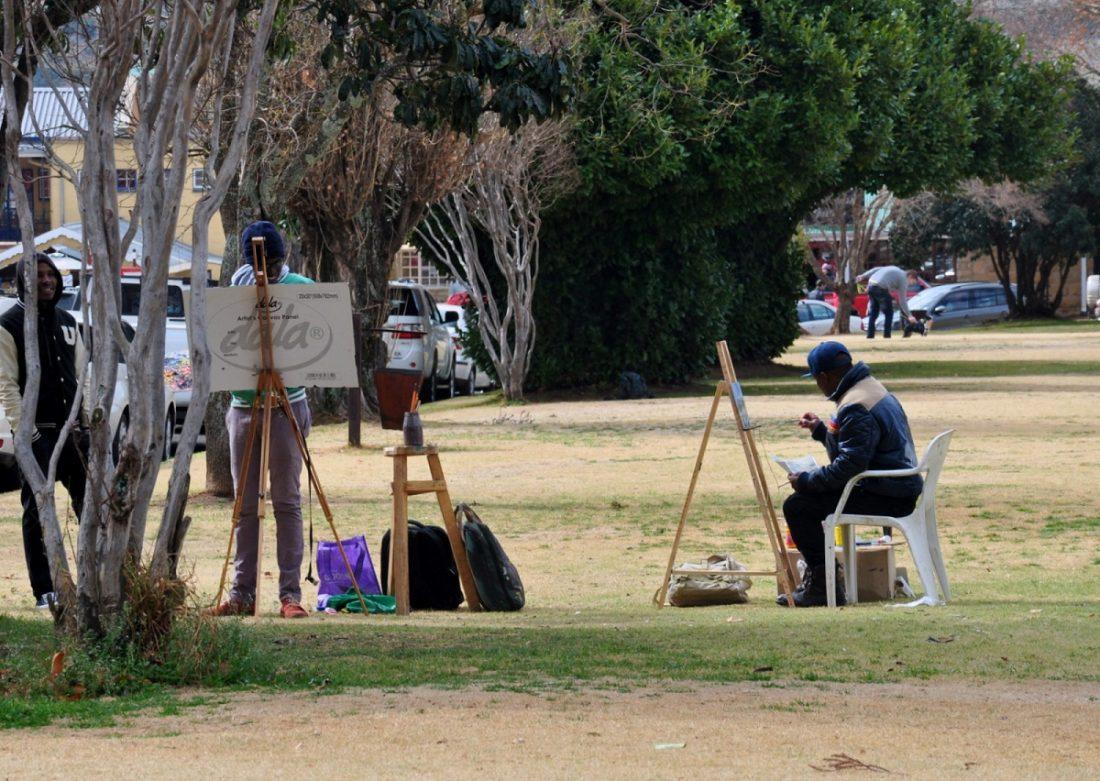 Artists in Clarens