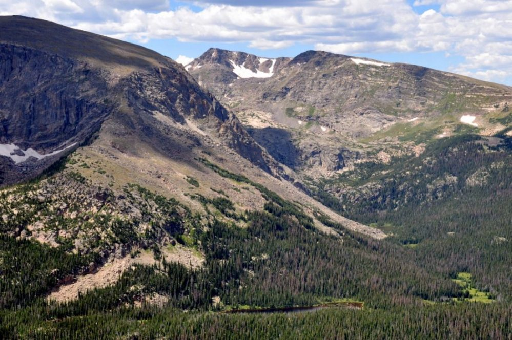 Colorado : Trail Ridge Road :Forest Canyon Overlook