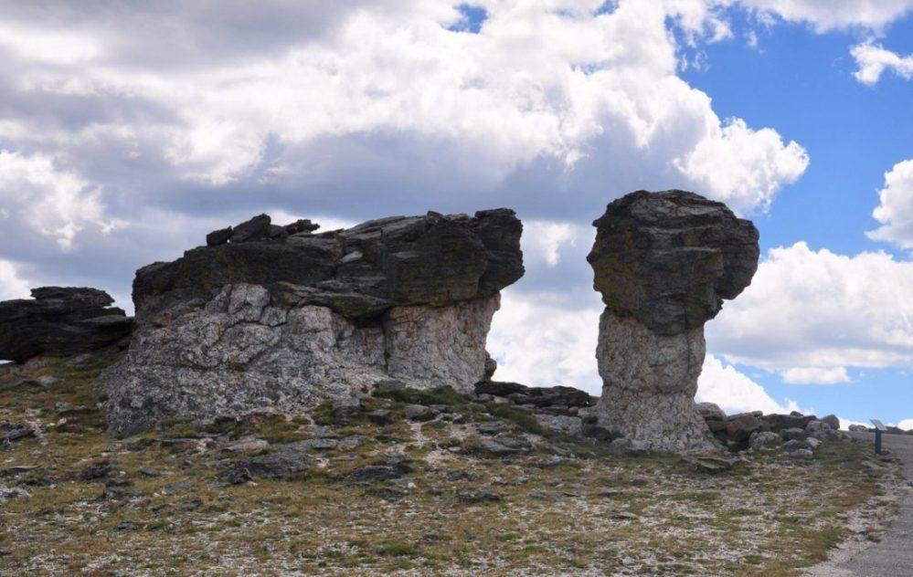 Colorado : Trail Ridge Road : Mushroom Rocks