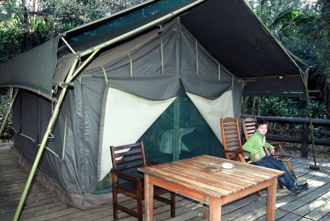 Swaziland : Phophonyane Falls Ecolodge