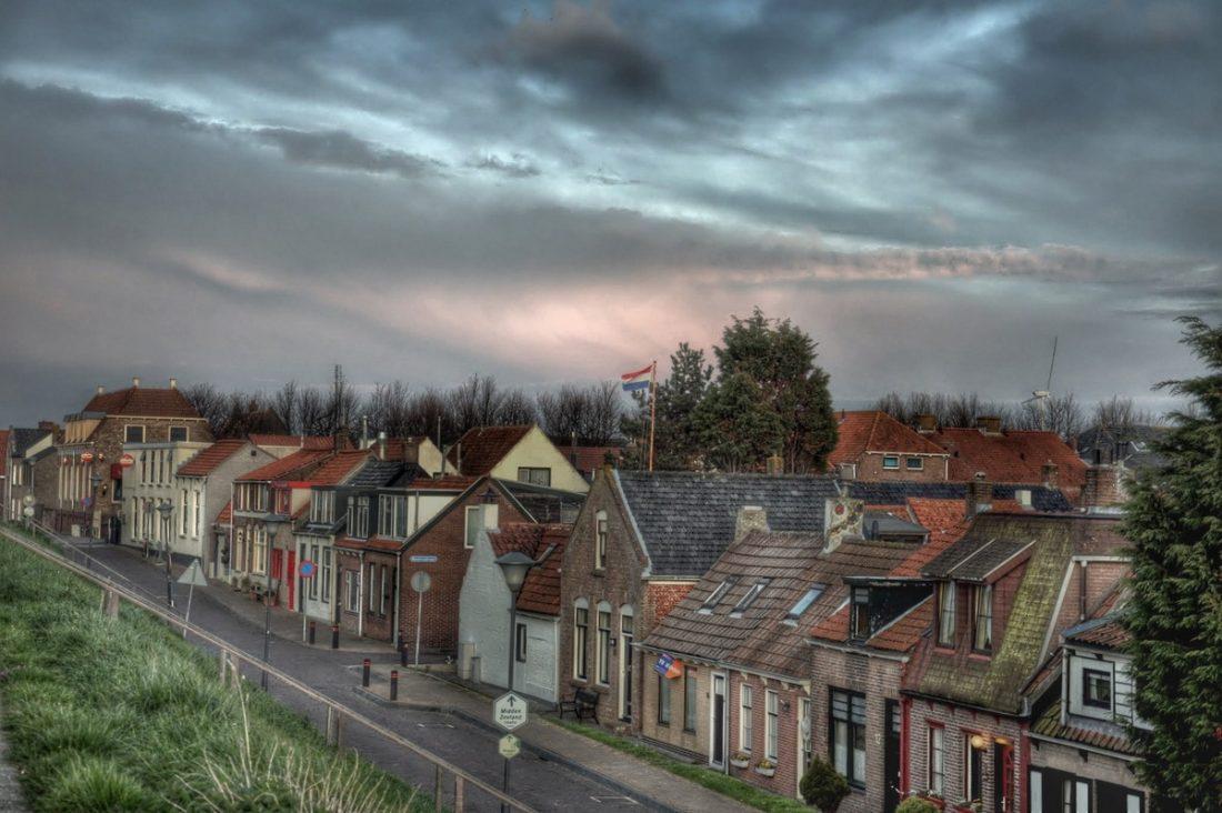 Zeeland : Colijnsplaat Havenstraat