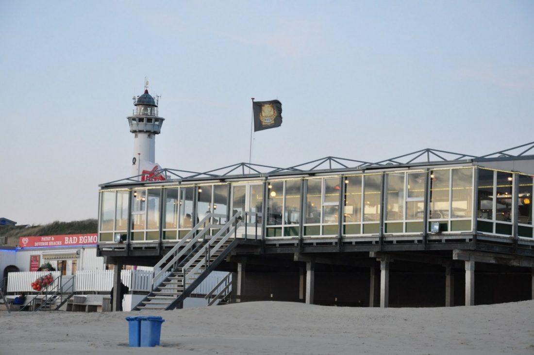 Egmond aan Zee : Strandpaviljoen De Uitkijk
