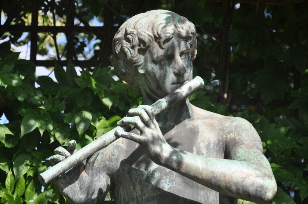 Nancy Pepiniere Joueur de Flute