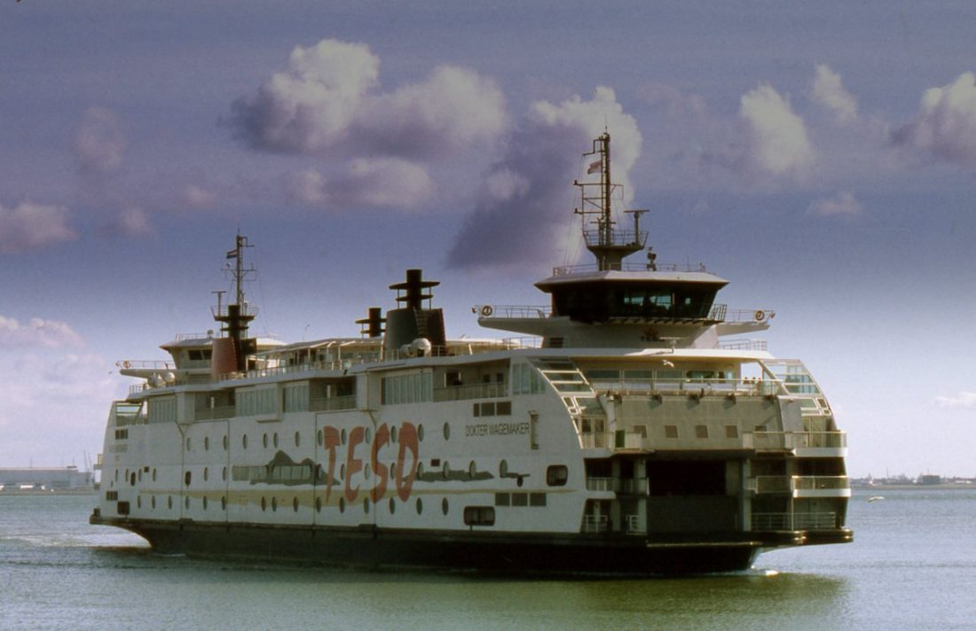 Ferry to Texel Island