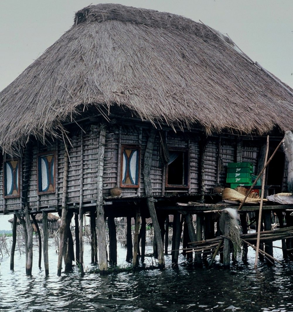 Benin : Ganvié bar