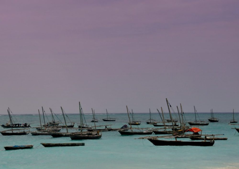 Zanzibar : Nungwi harbor