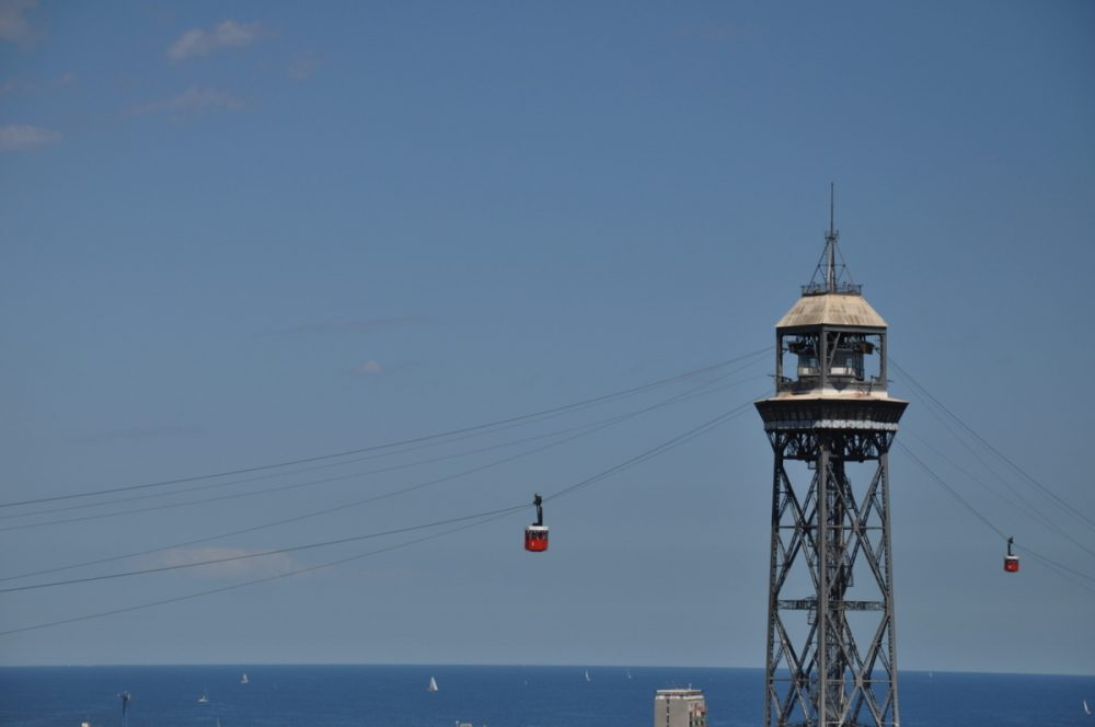 Barcelona : Teleférico Del Puerto