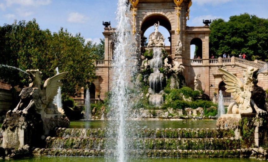 Parc de la Ciutadella : Cascada Monumental