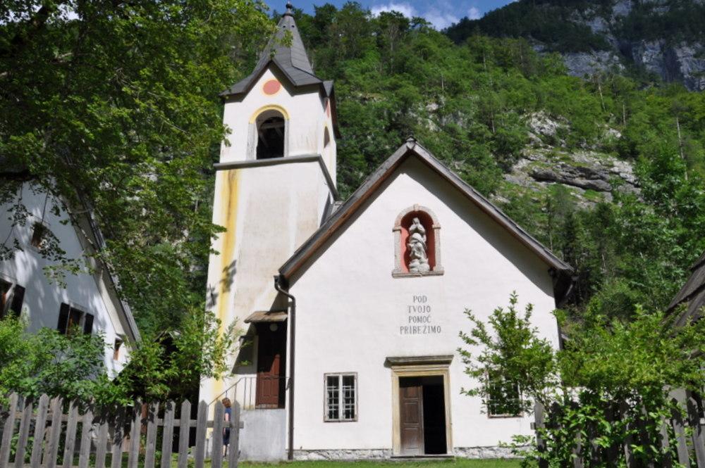 Cerkev Device Marije Lavretanske, Trenta