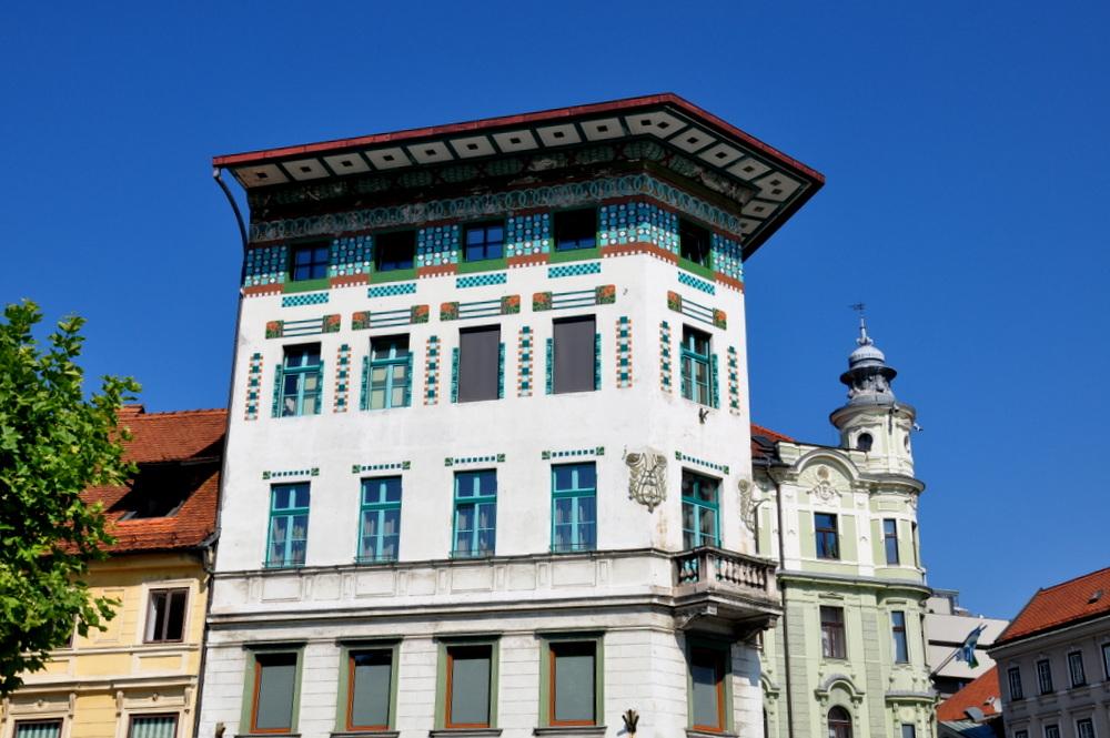 Ljubljana : Maison Hauptmann