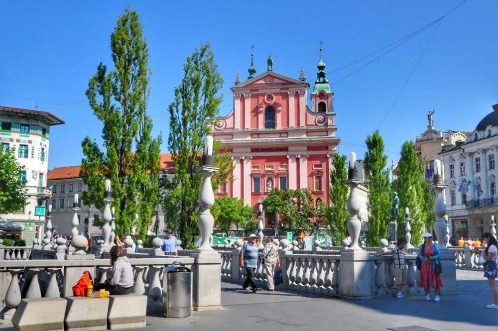 Ljubljana Triple Bridge (Tromostovje)