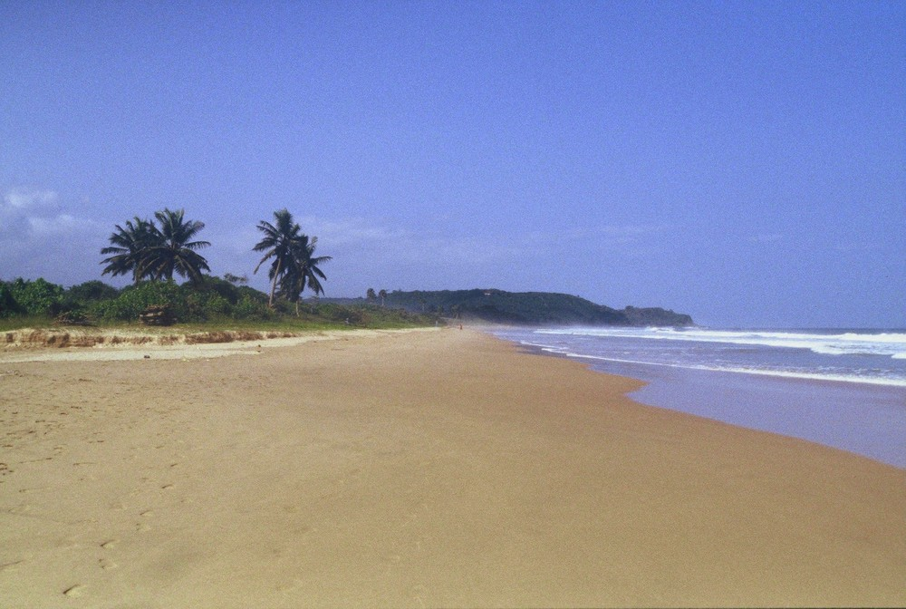 Ghana : Busua Beach