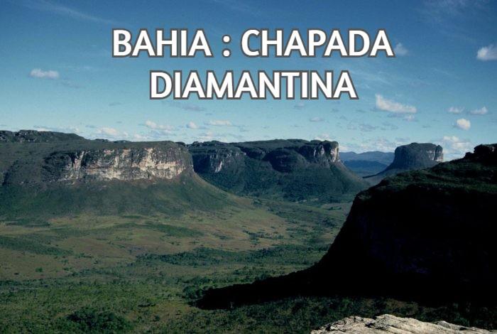 BAHIA : CHAPADA DIAMANTINA