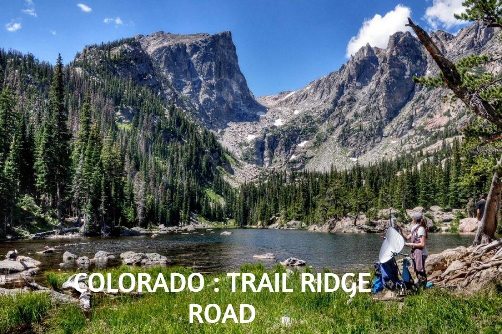 COLORADO : TRAIL RIDGE ROAD / ESMERALD LAKE