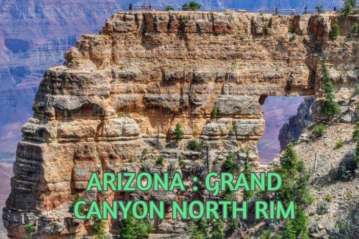 ARIZONA : GRAND CANYON NORTH RIM