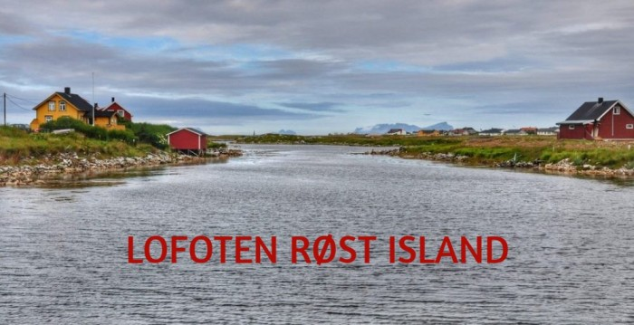 NORWAY : LOFOTEN RØST ISLAND