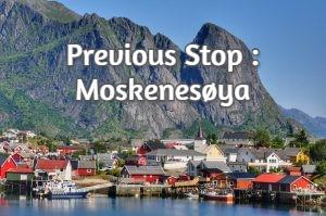 Previous Stop : Moskenesøya